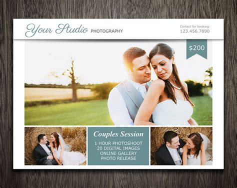 photoshop advertising templates photography marketing template photoshop template for