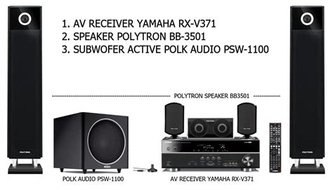 Home Theater Polytron Bb 5510 review spesifikasi home theatre av receiver htib speakers acessories