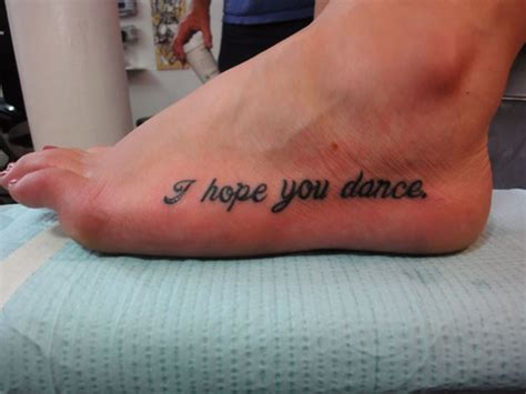 i hope you dance tattoo i you picture at checkoutmyink
