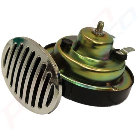 boat horn replacement 2 x 12v twin tone snail horns chrome grilles replacement