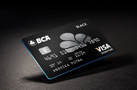 bca one card bca black launching on behance