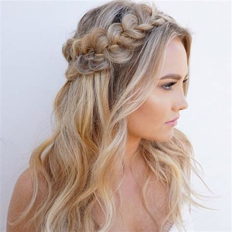 Braided Half Up Hairstyles by Glowy Skin Bold Brows And A Textured Braided Half Up