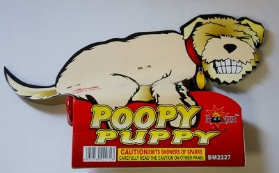 poopy puppy poopy puppy 1pc fireworks llc
