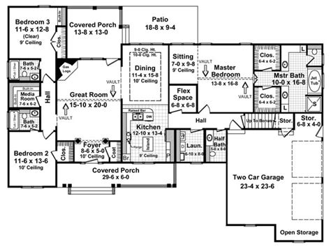 2200 sq ft floor plans the fairhope 5757 3 bedrooms and 3 baths the house