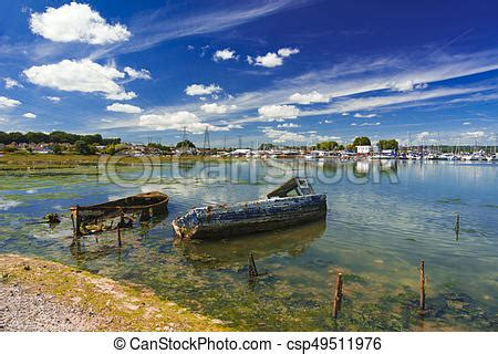 boat fishing in poole harbour old boats in poole harbour derelict boats in the
