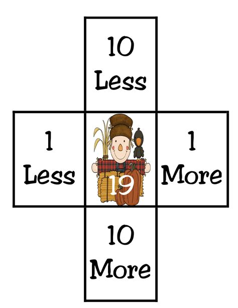 More From 10 by Grade Funtastic Number Sense 10 More 10 Less
