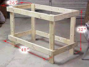 how to build a basic bench building a basic work bench