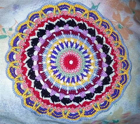 crochet mandala rug mandala 21 rug by free crochet pattern heishooked mmmmmm mandala s