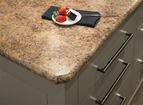 Countertop Edges Formica by 7732 Butterum Granite Formica 174 Laminate With Bullnose