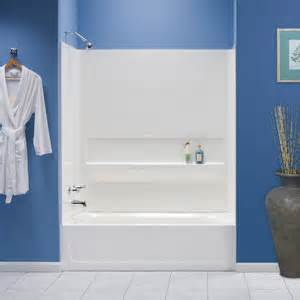 60 X 30 Alcove Bathtub E L Mustee Amp Sons Topaz Bathtub Amp Walls Package