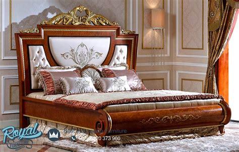 bedroom jati klasik dipan tempat tidur mewah terbaru royal furniture jepara