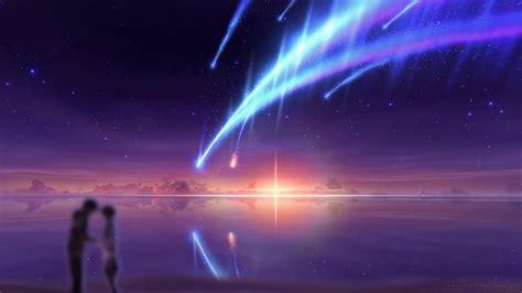 wallpaper engine kimi no na wa vfx art scene tiamat comet kimi no na wa youtube