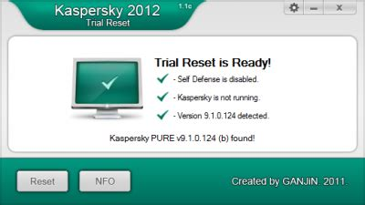 reset kaspersky parental control password kaspersky internet security 2012 unlimited trail reset