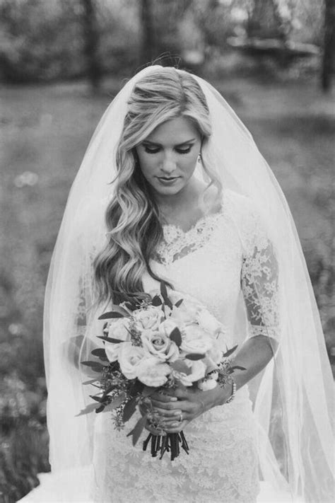 Bridal Hairstyles For Length Hair With Veil by Top 8 Wedding Hairstyles For Bridal Veils