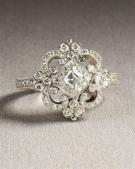 Verlobungsring Vintage by Duchess Engagement Ring Or Right Ring Semi