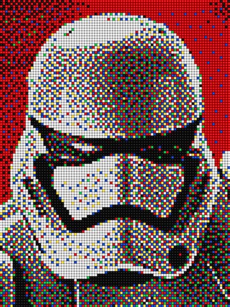 wars pixel templates stormtrooper wars with pixel quercetti