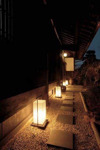 japanese style garden lights japanese garden lighting garden garden pinterest
