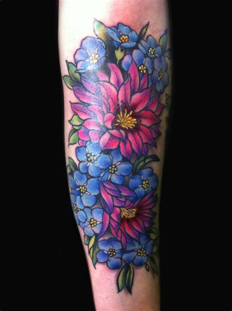girly flower tattoos girly desert flower by lawson tattoos