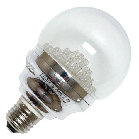 lights of america led bulbs lights of america 20354 2035led 65k 8 globe led light