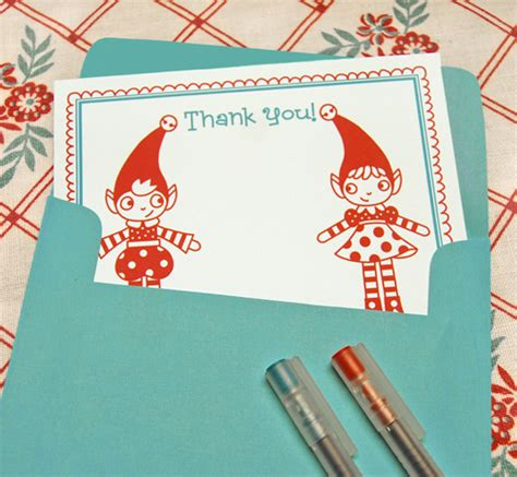 free printable christmas thank you note cards thank you notes printables red ted art s blog