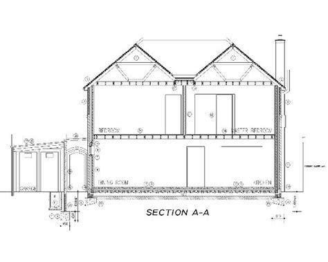 section through a building project co ordination 171 bps 171 building surveying