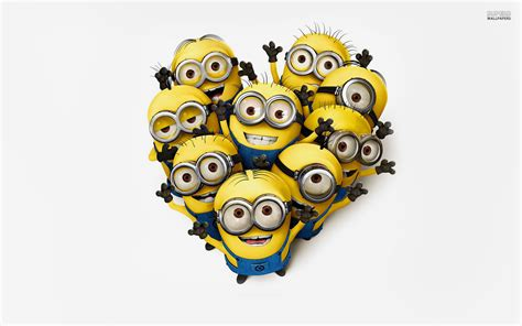 Minions World Graphic 2 minions are saying hello wallpapers and images