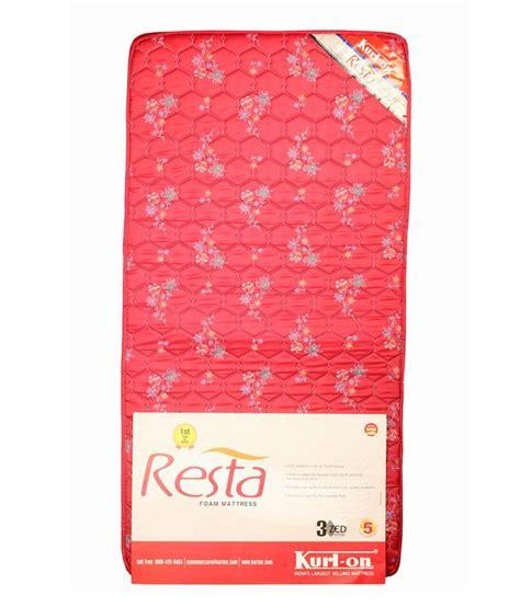 Kurlon Mattress Price India by Kurlon Foam Mattress Best Price In India On 1st