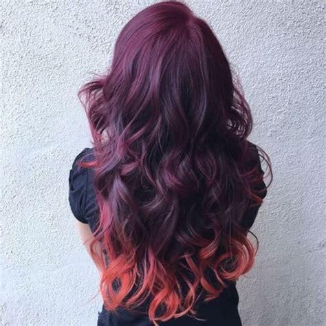 cherry burgundy hair 23 trendy shades of burgundy hair color for 2018