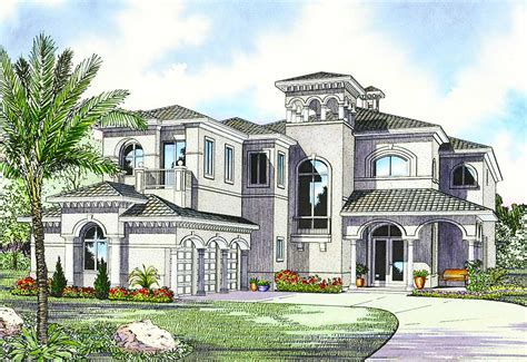luxury home plans with pictures luxury mediterranean house plan 32058aa architectural