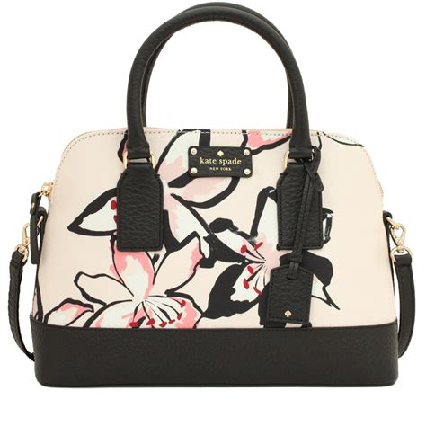 Kate Spade Bag 1 kate spade bay floral small rachelle bag pink orchard luxury brands