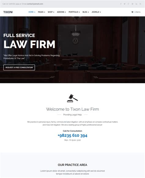 bootstrap templates for lawyers 5 of the best joomla templates for lawyers law firms down