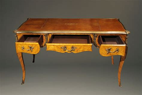 louis xv writing desk late 19th century louis xv style writing desk
