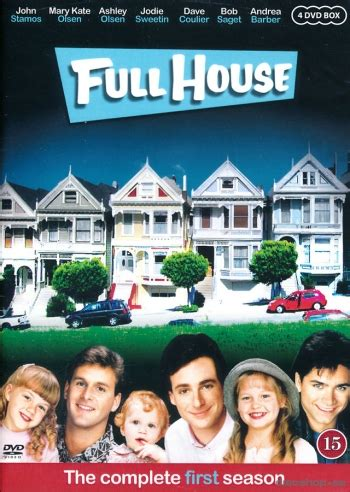 full house season 1 full house season 1 4 disc dvd discshop se