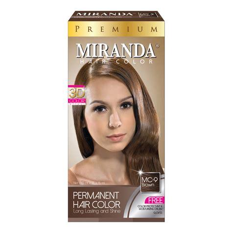 Miranda Hair Color Brown 60ml miranda hair color premium golden brown daftar harga