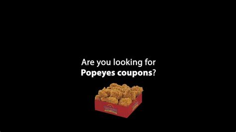 Popeyes Chicken Gift Cards - popeyes coupons get them here youtube