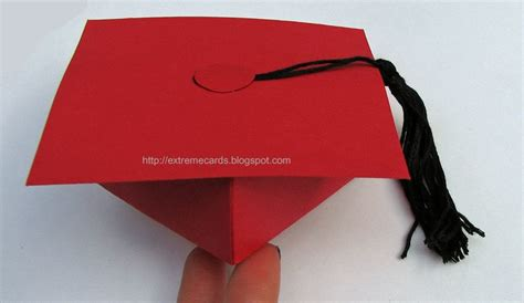 Origami Graduation Cap - graduation cap money gift box 183 how to make a paper box