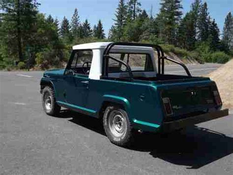 1967 Jeep Commando Purchase Used 1967 Jeep Jeepster Commando 2 Owners 9k