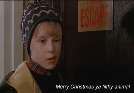 home   merry christmas ya filthy animal gif find share  giphy