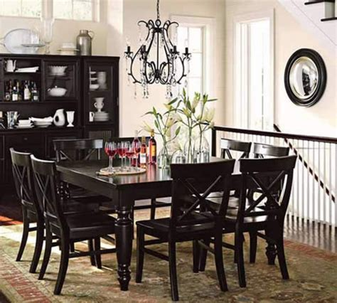 Black Dining Room Chandelier Dining Room Chandeliers Casual Cottage
