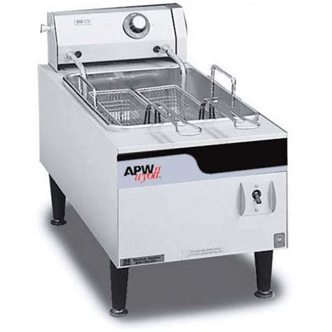 Best Countertop Fryer by Apw Wyott Ef 15i Commercial Countertop Fryer 15 Lbs