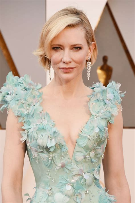 A Closer Look At The Oscars Cate Blanchett by Cate Blanchett 2016 Oscars In