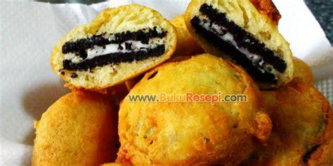 cara membuat oreo goreng dengan tepung pancake resepi oreo goreng www bukuresepi com
