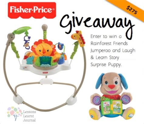 fisher price laugh and learn puppy jumperoo fisher price giveaway