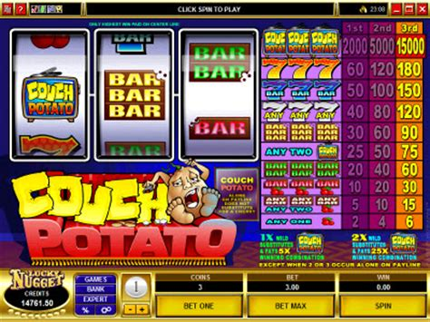 couch potato slots slots play free slots online