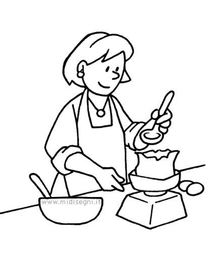 bambine che cucinano disegni da colorare per bambine midisegni it