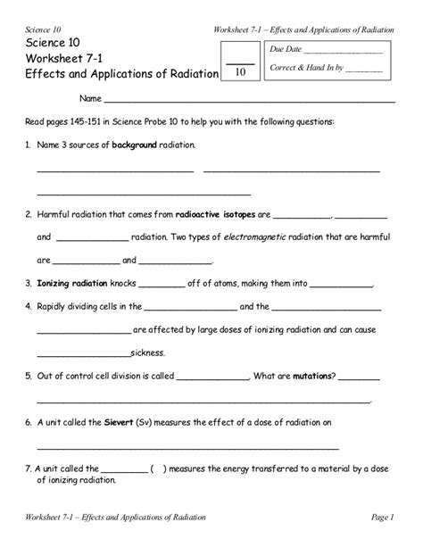 section 25 1 nuclear radiation worksheet answers nuclear radiation worksheet geersc