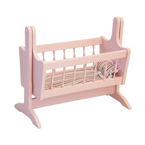 dolls swinging crib doll bed amish made mini doll bed amish made toys