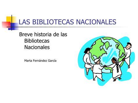 breve historia de los 8497631404 breve historia de las bibliotecas nacionales