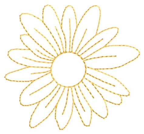 embroidery design outline outlines embroidery design flower outline from grand slam