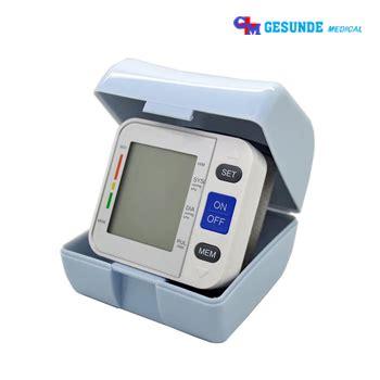 Tensimeter Digital Pergelangan Tangan tensi darah digital pergelangan tangan gm al800a26 toko
